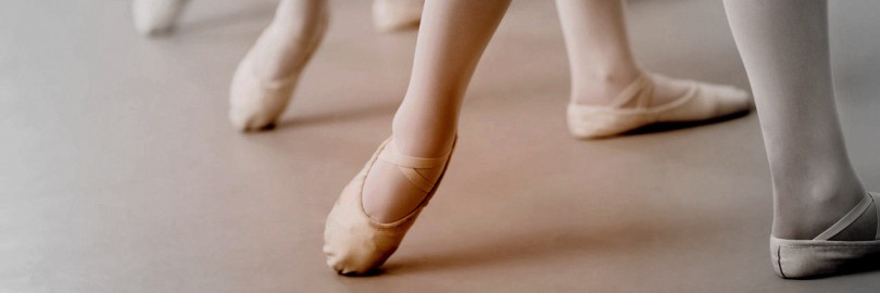 Ballerinas' Legs in a Row --- Image by © Royalty-Free/Corbis